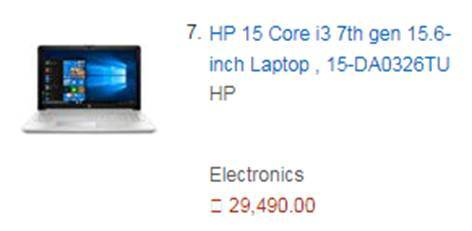 HP 15 Core Laptop