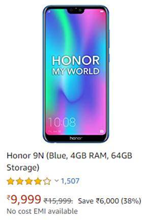 Honor 9N Mobile