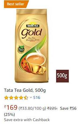 taat tea gold
